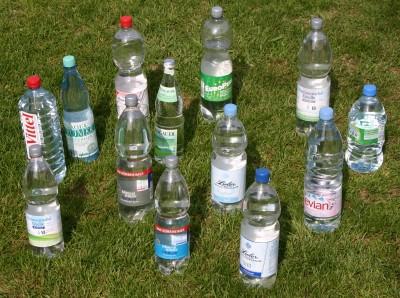 Flaschenparade