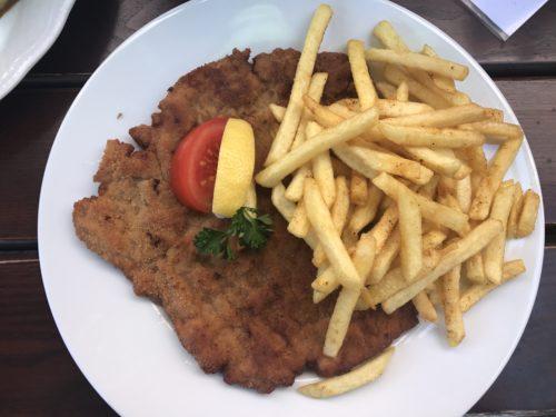Sehr leckeres Schnitzel in Velden