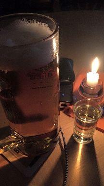 Bier und Schnäpschen..