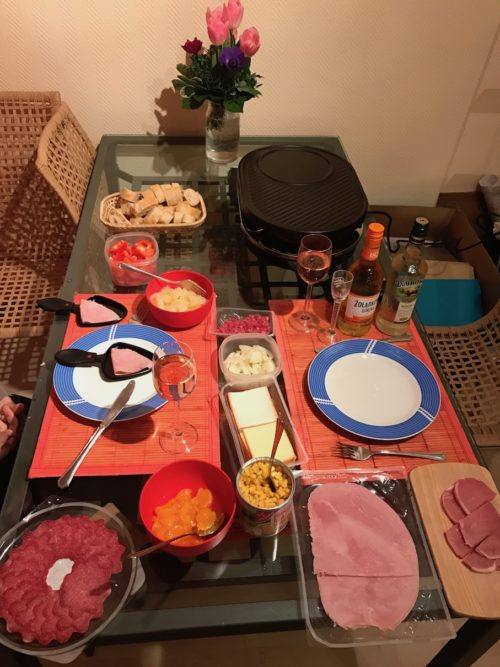 Raclette des Todes an Silvester für zwei....