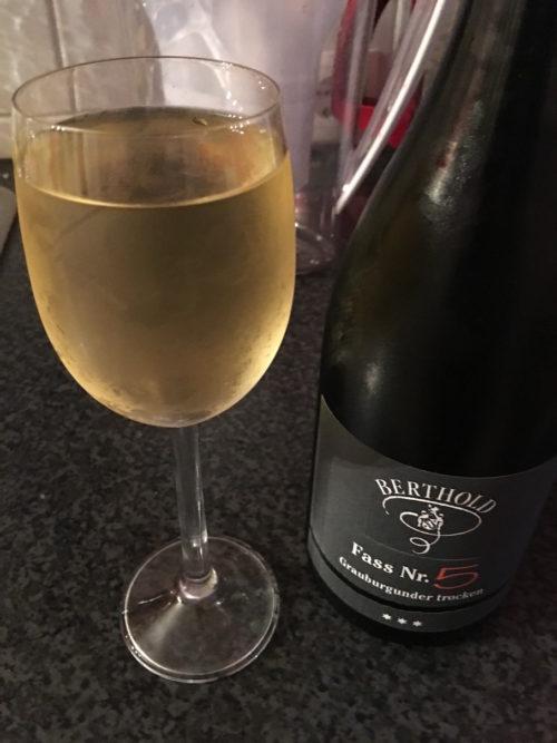 Grauburgunder vom Weingut Berthold